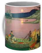 The Call Of The Sea Coffee Mug by Frederick Cayley Robinson