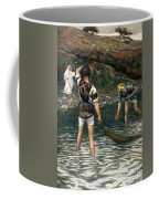 The Calling Of Saint Peter And Saint Andrew Coffee Mug by Tissot
