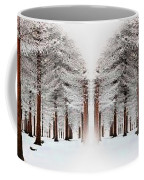 The Calm Of Winter In The Woods Coffee Mug