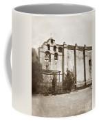 The Campanario, Or Bell Tower Of San Gabriel Mission Circa 1880 Coffee Mug