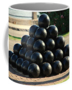 The Cannonballs At The Battery In Charleston Sc Coffee Mug