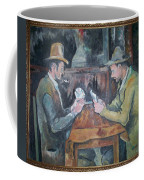 The Card Players Coffee Mug