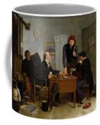 The Card Players Coffee Mug by  Richard Caton Woodville