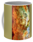 The Carina Nebula Panel Number One Out Of A Huge Three Panel Set Coffee Mug