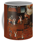 The Carpenters Shop In Nazareth Coffee Mug
