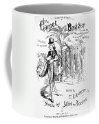 The Carpet Bagger, C1869 Coffee Mug
