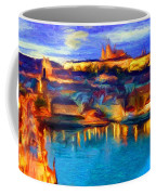 The Castle And The River Coffee Mug