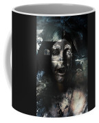 The Castle And The Vampires Tale Coffee Mug