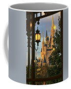 The Castle From The Palace Coffee Mug