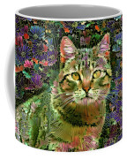 The Cat Who Loved Flowers 1 Coffee Mug