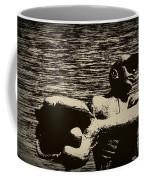 The Catch Coffee Mug by Bill Cannon