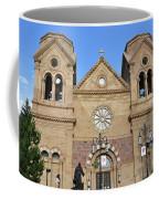 The Cathedral Basilica Of St. Francis Of Assisi, Santa Fe, New M Coffee Mug
