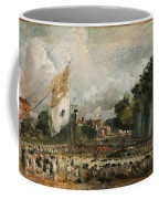 The Celebration In East Bergholt Of The Peace Of 1814 Concluded In Paris  Coffee Mug