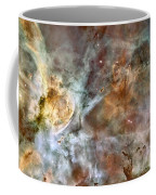 The Central Region Of The Carina Nebula Coffee Mug by Stocktrek Images