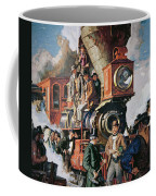 The Ceremony Of The Golden Spike On 10th May Coffee Mug
