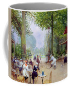 The Chalet Du Cycle In The Bois De Boulogne Coffee Mug