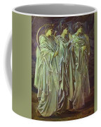The Challenge In The Wilderness 1898 Coffee Mug