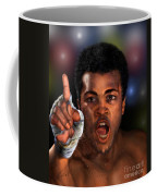 The Champ Is Here -period Coffee Mug
