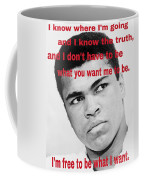 The Champ Muhammad Ali  Coffee Mug
