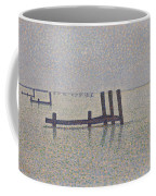 The Channel At Nieuport Coffee Mug
