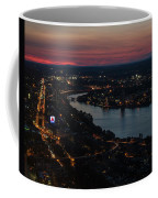 The Charles River Runs Through Boston At Sunset Boston, Ma Coffee Mug