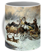 The Chase Coffee Mug by Constantine Stoiloff