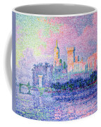 The Chateau Des Papes Coffee Mug
