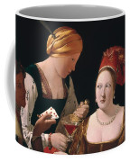 The Cheat With The Ace Of Diamonds Coffee Mug