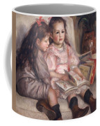 The Children Of Martial Caillebotte Coffee Mug by Pierre Auguste Renoir