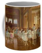 The Children's Dance Recital At The Casino De Dieppe Coffee Mug