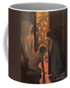 The Christmas Tree Coffee Mug by Henry Mosler