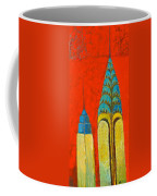 The Chrysler And The Empire State Coffee Mug