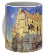 The Church At Moret Coffee Mug by Alfred Sisley