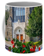 The Church In Summer Coffee Mug
