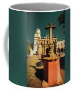 The Church Of San Juan Bautista Of Coyoacan 2  Coffee Mug