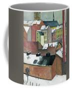 The Church Of St Mary In Bonn In Snow Coffee Mug
