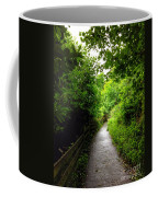 The Cliff Path At Lynton 4 Coffee Mug