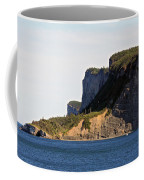 The Cliffs Of Forillon  Coffee Mug