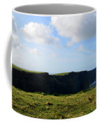 The Cliff's Of Moher In Ireland With Beautiful Skies Coffee Mug