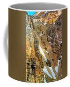 The Climb To Abbot's Hut - Paint Coffee Mug