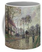 The Coach To Louveciennes Coffee Mug