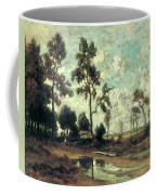 The Colliers' Hut In The Forest Of Fontainebleau Coffee Mug