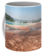 The Colorful Grand Prismatic Spring Coffee Mug