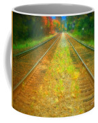 The Colour Along The Tracks Coffee Mug