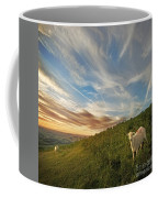 The Colours Of The Evening Coffee Mug by Angel  Tarantella