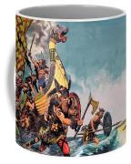 The Coming Of The Vikings Coffee Mug