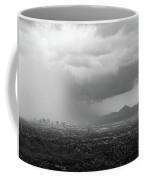The Coming Storm Black And White Coffee Mug