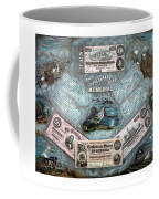 The Confederate Note Memorial  Coffee Mug by War Is Hell Store