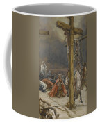 The Confession Of Saint Longinus Coffee Mug by Tissot