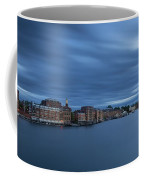 ...the Coolness Of Portsmouth...blue Hour... Coffee Mug
